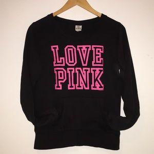 💗 PINK by VS 'Love Pink' crewneck w/pocket